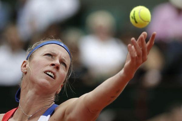 Pauline Parmentier quitte le tournoi de Roland-Garros