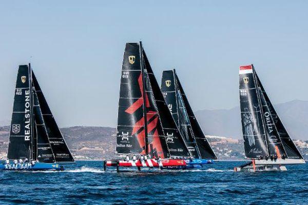 L'équipe de Pierre Casiraghi, Malizia - Yacht Club de Monaco, mène la flotte.