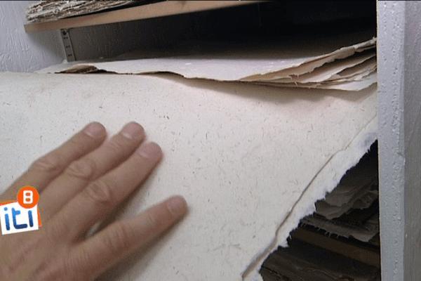 Du papier lin pour dessiner ou peindre