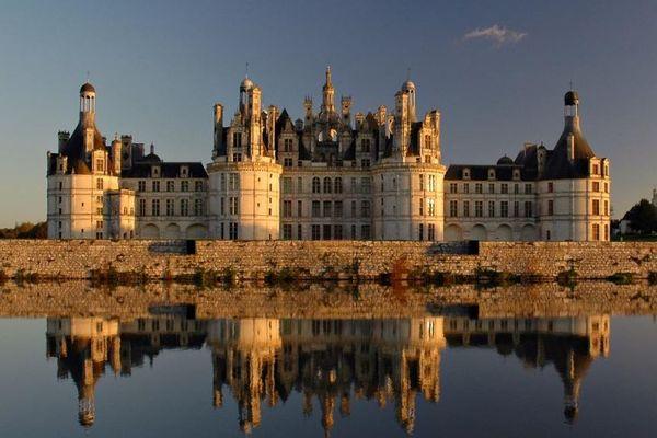 Le château de Chambord, dans le Loir-et-Cher.