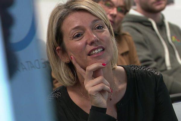 Muriel Avinens, directrice de Dell dirige une succursale de 1000 employés