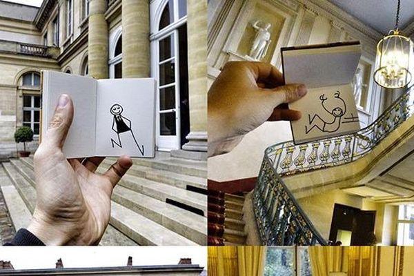 """L'une des photos prises par les Instagramers invités du premier """"empty"""" organisé par le gouvernement, en amont des Journées européennes du patrimoine."""