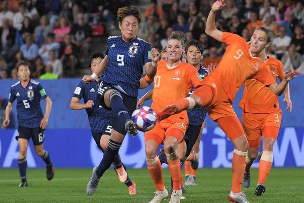 L'attaquante japonaise Yuika Sugasawa s'est illustrée lors de ce 8e de finale de Coupe du Monde face aux Néerlandaises au Roazhon Park à Rennes