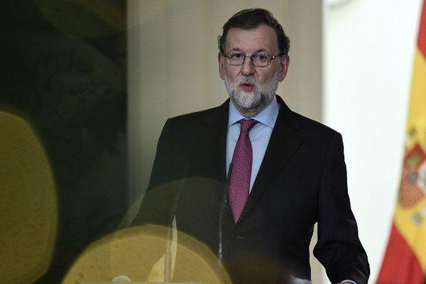 Mariano Rajoy, chef du gouvernement espagnol - 29 décembre 2017