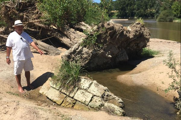 Sortie des sables de la Loire, voici Sainte Mussette