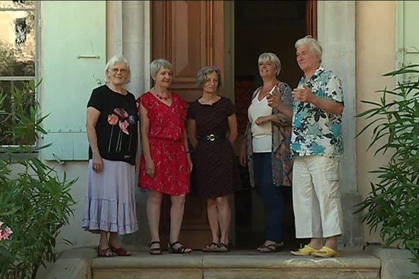 Les membres associés de l'habitat partagé de Vals-les-Bains