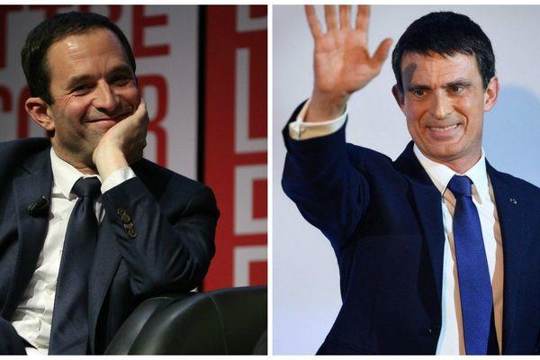 Hamon - Valls, le duel du second tour des primaires de la gauche.