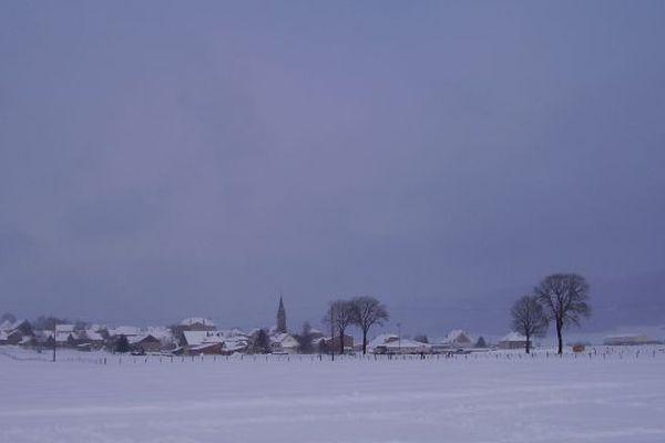 Arc-sous-Cicon en hiver