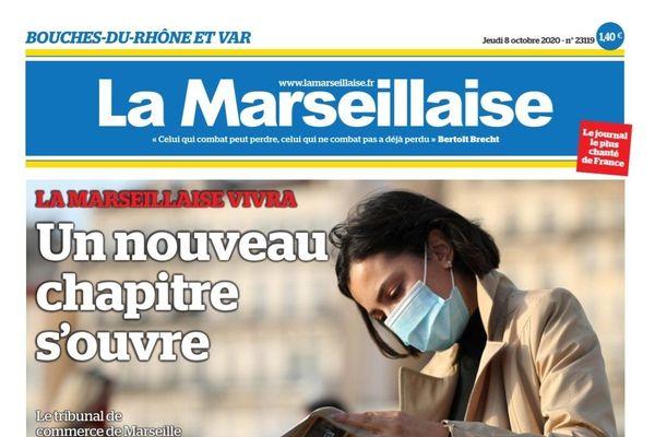 L'offre de reprise du quotidien La Marseillaise par le groupe de presse Maritima Medias, a été validée mercredi par le tribunal de commerce de Marseille.