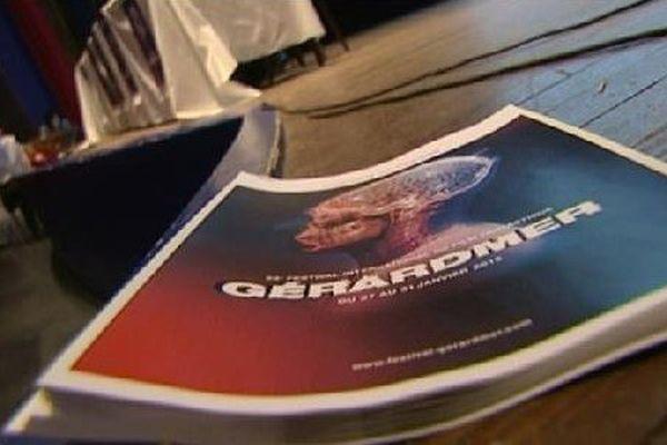 L'affiche officielle du Festival du Film Fantastique de Gérardmer.