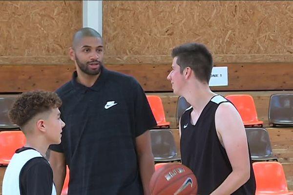 Nicolas Batum est de retour dans la ville où il a fait ses premier pas de basketteurs