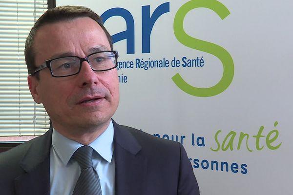 Pierre Ricordeau, directeur de l'Agence régionale de santé d'Occitanie