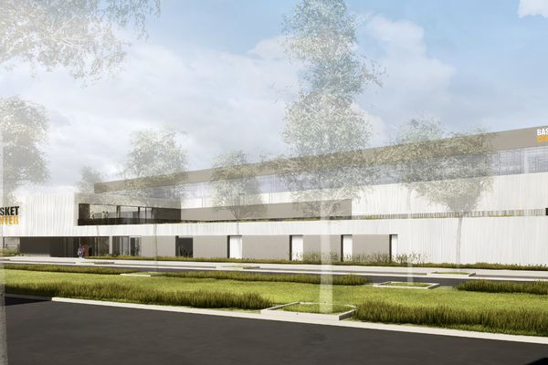 Le futur complexe de basket-ball fera 3.000 m².