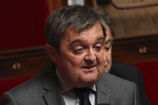 Le député LR de Saint-Malo, Gilles Lurton