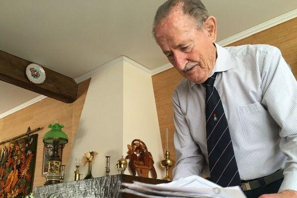 Henri Ramolet, 93 ans, est le dernier déporté d'Eure-et-Loir.