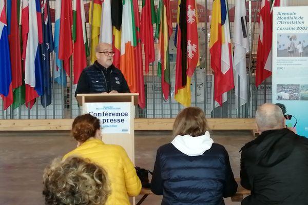 Le président du Mondial Air Ballons, Philippe Buron-Pilâtre, a donné une conférence de presse pour préciser les conditions particulières dans lesquelles va se dérouler l'édition 2021.