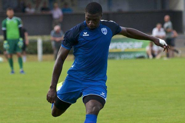 Ibrahim Sissoko en juillet 2019 lors d'un match amical.