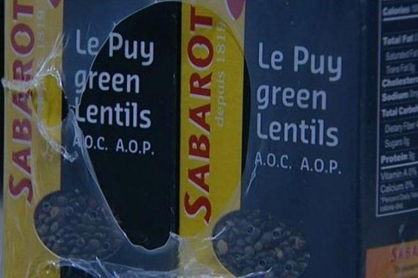 Sabarot Wassner est le principal exportateur de lentille verte du Puy en Russie