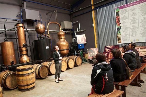Le Cassissium accueille près de 40 000 visiteurs chaque année, qui viennent découvrir les secrets de fabrication de la crème de cassis du liquoriste Védrenne à Nuits-Saint-Georges.