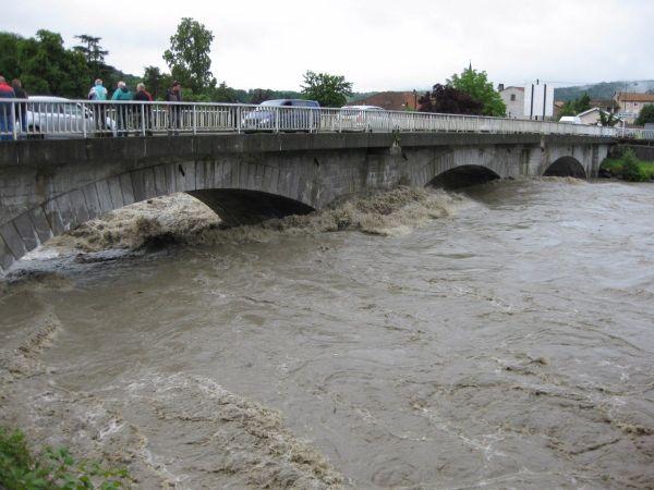 La Garonne au pont de Valentine à Saint-Gaudens