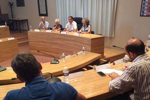 Cyril Meunier, maire de Lattes, donnait une conférence ce mardi 27 juin suite à la décision de Philippe Saurel de basculer la métropole sous l'étiquette LREM.
