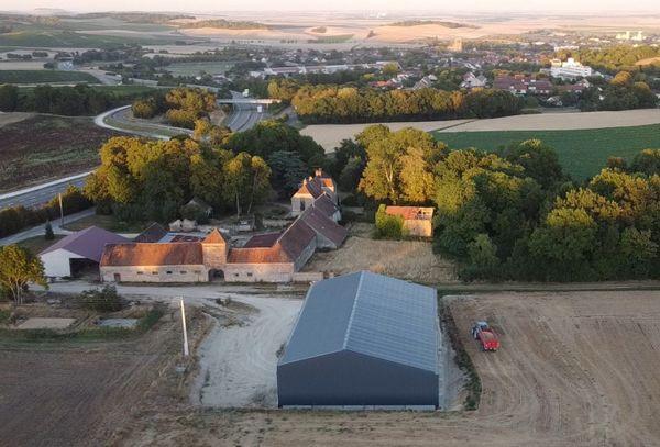 Les pâtes seront fabriquées dans leur ferme des Grandes Tuileries située à Sézanne, Marne