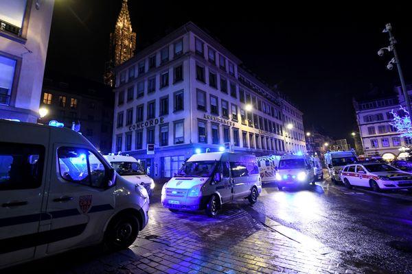 Strasbourg mardi soir