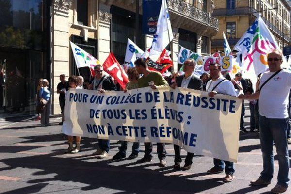 Seulement 13,76 % de grèvistes en Midi-Pyrénées ce jeudi 17 septembre. C'est moitié moins que lors de la première manifestation en mai dernier.