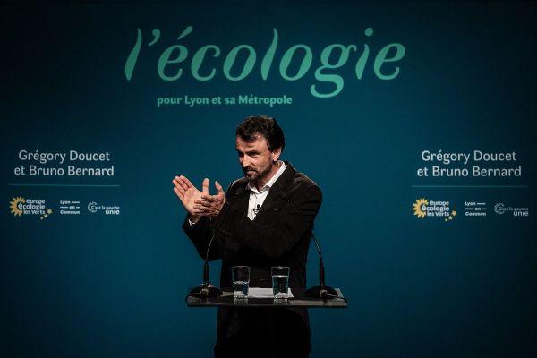 Après les élections municipales, Europe Ecologie les Verts vise désormais les élections régionales en Auvergne-Rhône-Alpes (en photo, Grégory Doucet, maire écologiste de Lyon).