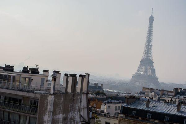 La Tour Eiffel, à Paris.