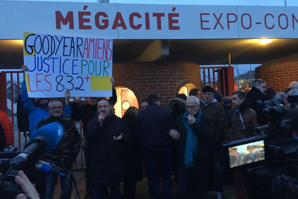 Les 832 ex-salariés de l'usine Goodyear contestent le motif de leur licenciement depuis mainteant six ans