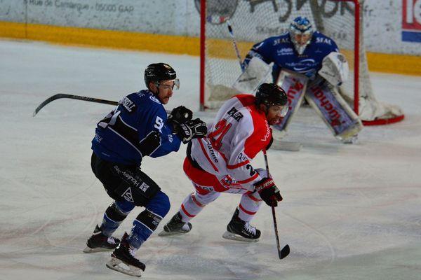 Les Rapaces de Gap contre Bordeaux le 24 février dernier.