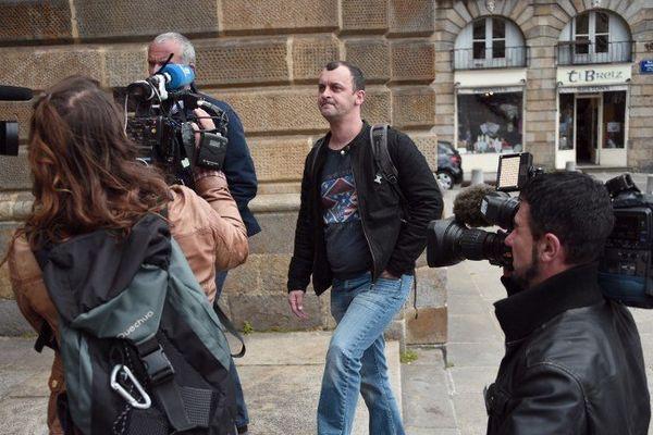 Franck Lavier l 1er juin 2015 à Rennes.