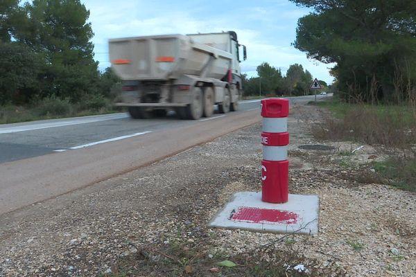Des balises souples sont installées dans les Bouches-du-Rhône.