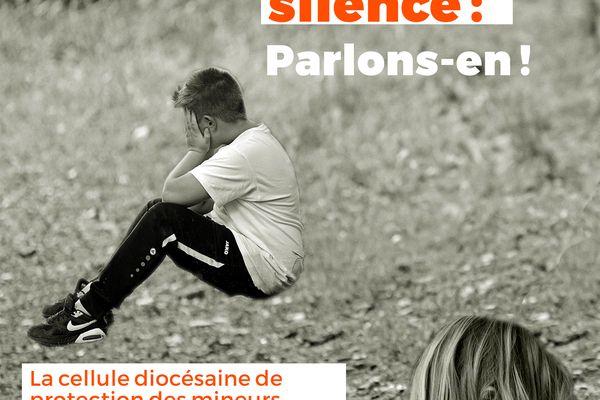 200 affiches pour inciter les victimes à parler