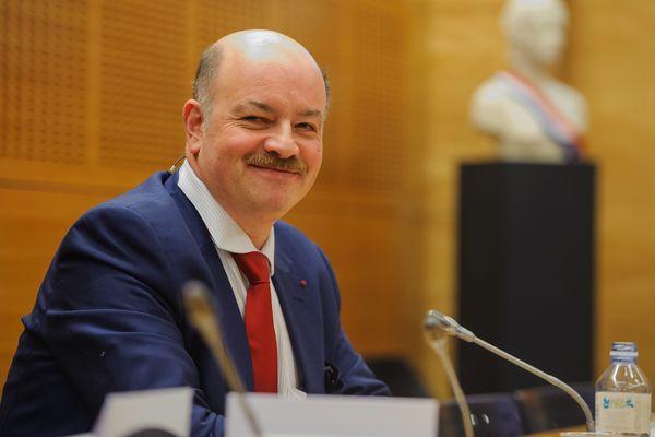 Le professeur de criminologie Alain Bauer