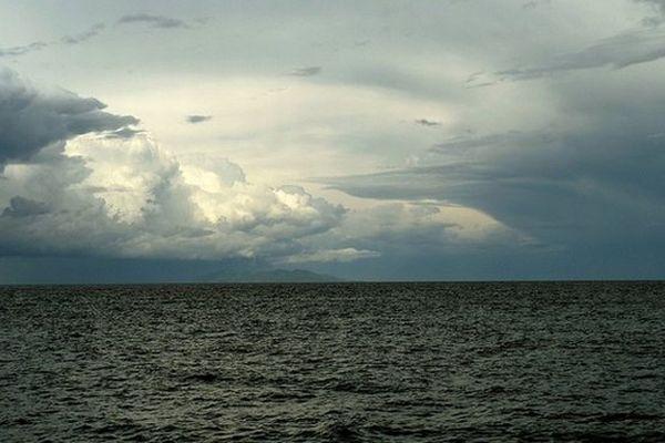 Temps orageux sur la Corse (Illustration)