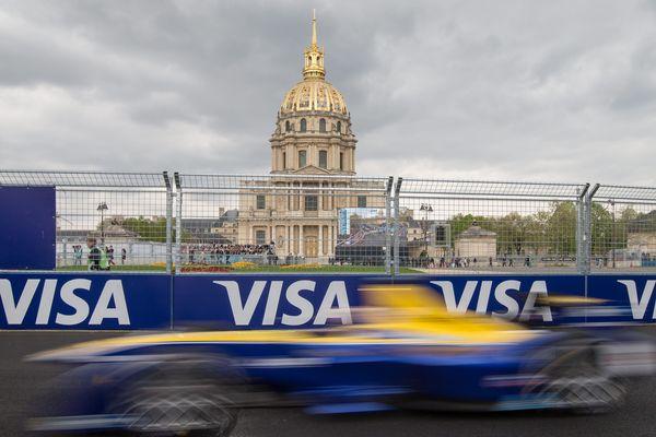 Le prix de formule E, à Paris, en 2016.