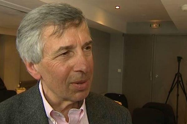 Claude Michy, président du Clermont Foot.