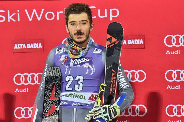Cyrprien Sarrazin devra encore patienter avant de retrouver les podiums, comme ici en 2016 à Alta Badia en Italie.