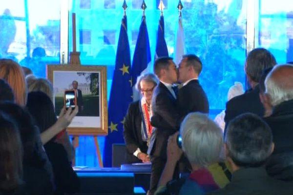 Il y a cinq ans jour pour jour, le premier mariage homosexuel était célébré à Montpellier - 29 mai 2018