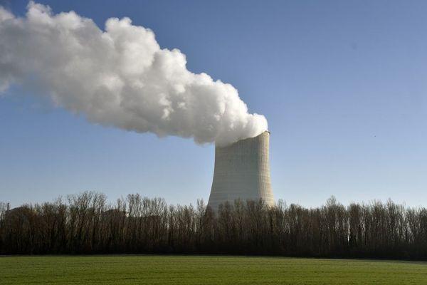 Centrale nucléaire de Golfech dans le Tarn-et-Garonne.