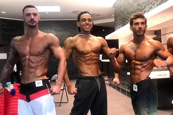 David Hosteau (au milieu) n'en finit plus de gagner des médailles en France et en Europe