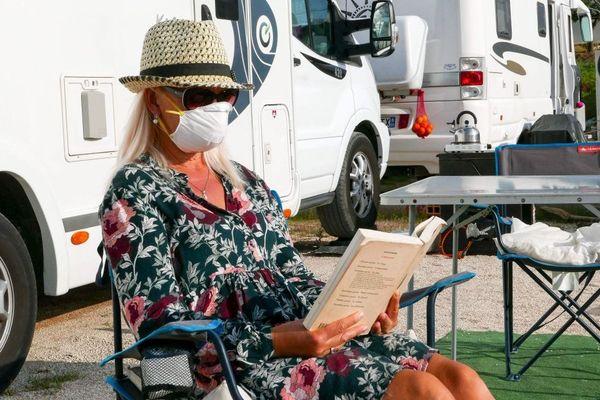 Le camping-car en mode masqué
