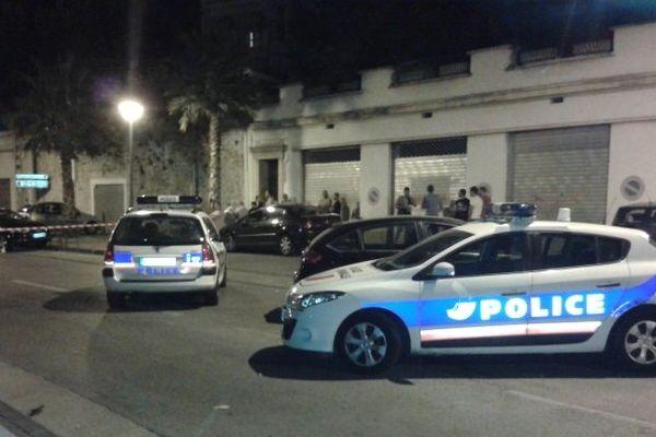 Scène de crime à l'Estaque à Marseille le 20 août 2013