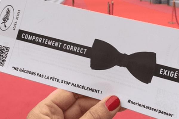 """Festival de Cannes : un numéro vert """"anti-harcèlement"""" mis en place."""
