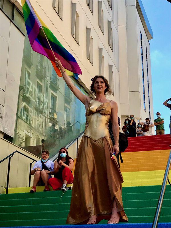 """Marianne LGBTQI+ sur les """"Marches des Libertés"""" à Nantes"""