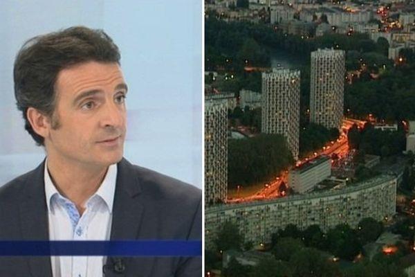 Eric Piolle était sur France 3 pour s'expliquer dans ce dossier de l'éclairage public à Grenoble.
