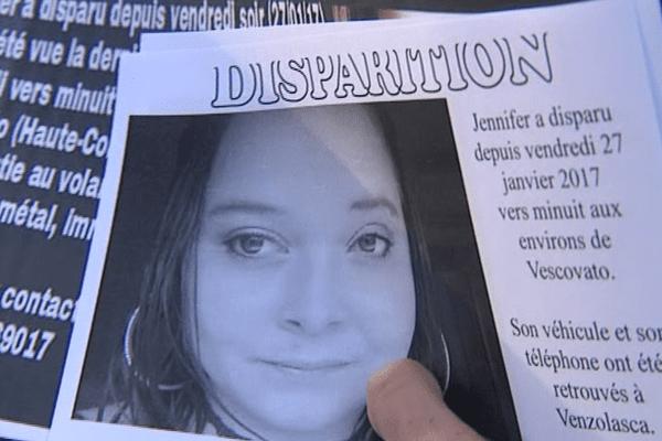 Les proches de Jennifer s'étaient mobilisés pour tenter de retrouver la jeune femme.