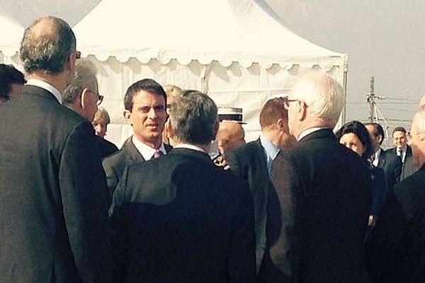 Manuel Valls dans les Pyrénées-Orientales - février 2015.